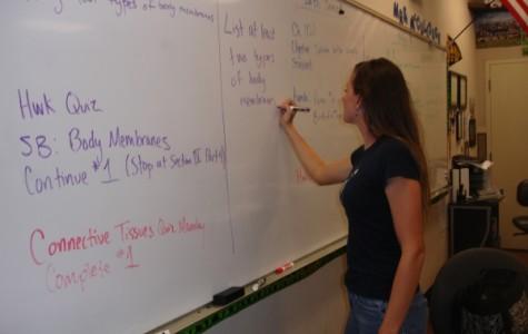 Q + A: Science teacher Melissa McCullough