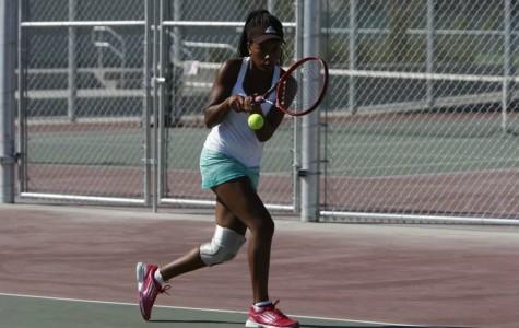 Tennis girls takes leadership