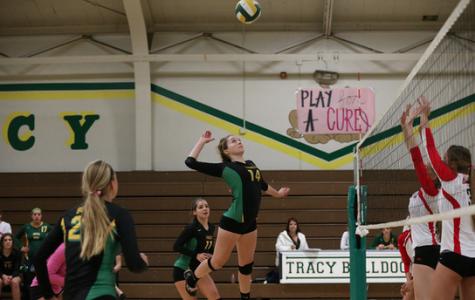 Volleyball senior night turned into 'Sammy night'