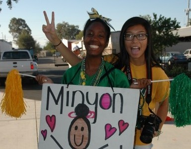 Tracy High Bulldogs show off their Homecoming spirit