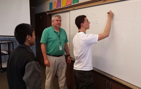Q + A: Math teacher David Daily