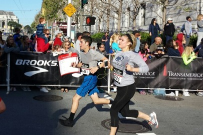 Running a half-marathon a life changing experience