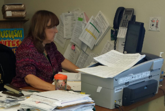 Q + A: Modified English teacher Nancy Rosato