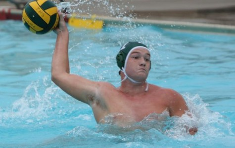 Boys' water polo working on fundamentals