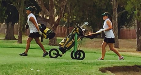 Captains, Takata and Andrade provide leadership for girls' golf