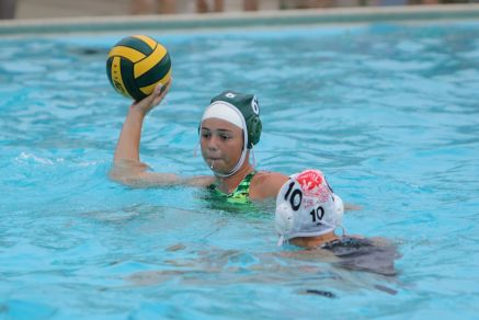 Girl's water polo team makes progress in tough league