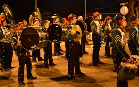 Tracy band marches one last time at holiday parade