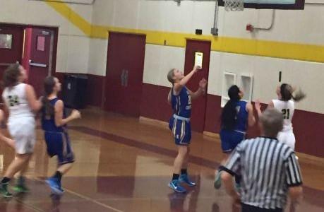 Girls' basketball has season goal at making playoffs