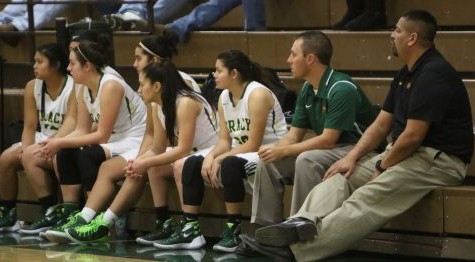 Girls' basketball finishes fourth in league, misses playoffs