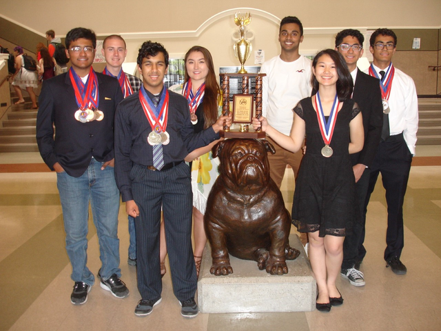 Tracy AcaDec finishes in top five at state competition