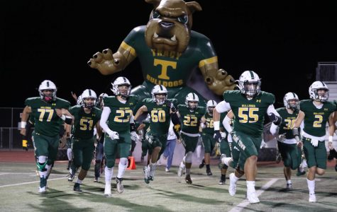 Tracy, St. Mary's Homecoming Game