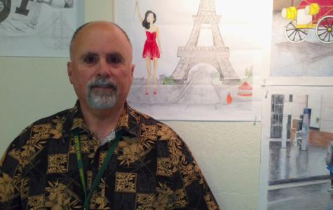 Q + A: Art teacher Thomas Coupe