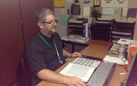 Q + A: English teacher Curtis Campbell