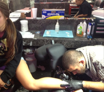 Lopez pursues dream of being a tattoo artist