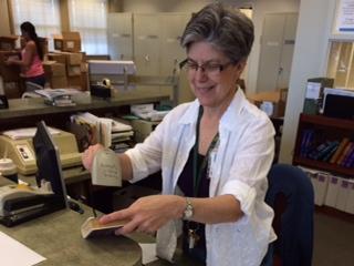 Q + A: Librarian Susan Perry