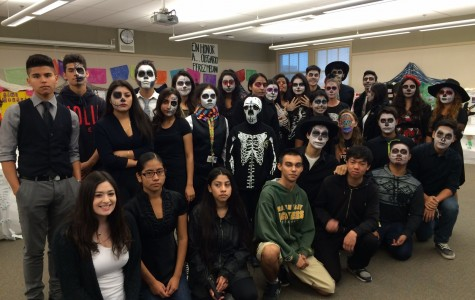 Students celebrate Day of the Dead