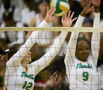 Volleyball team ends season in section semi-finals