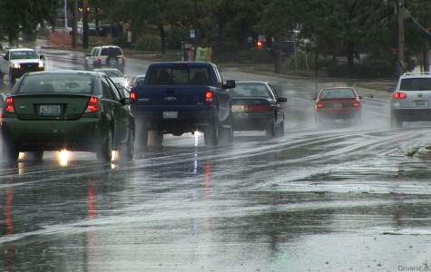 Students need to drive carefully in bad weather