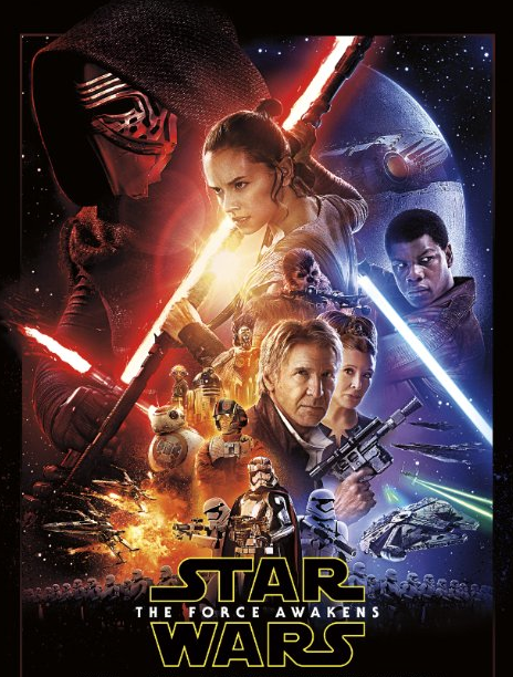 %22The+Force+Awakens%22+official+movie+poster.+Photo+by+Lucasfilm