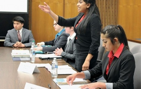 Mock Trial team prepares for county competition