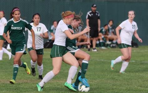 Girls' soccer currently unbeaten in league