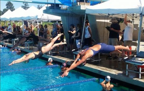Girls' swim ends season placing third in league championships