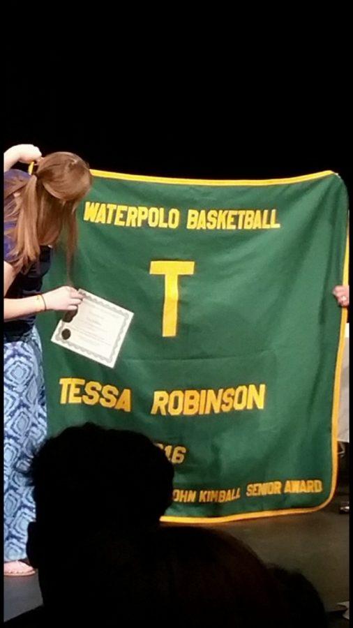 Robinson+receiving+her+blanket+