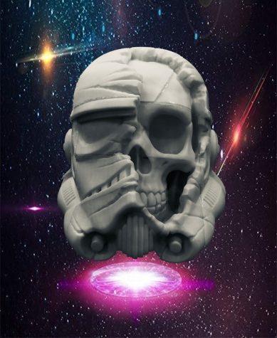 Stormtrooper helmet that Wasurick made