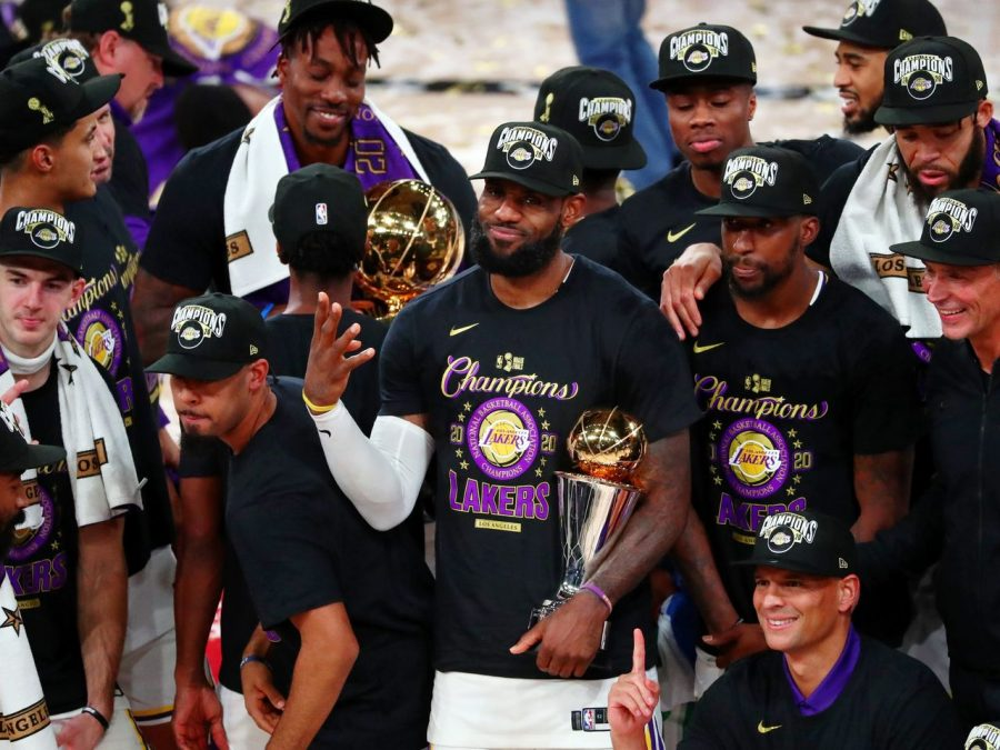 Lakers-NBA 2020 Champions