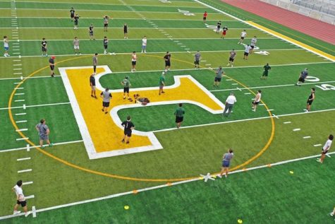 Tracy High Starting Conditioning and Practice
