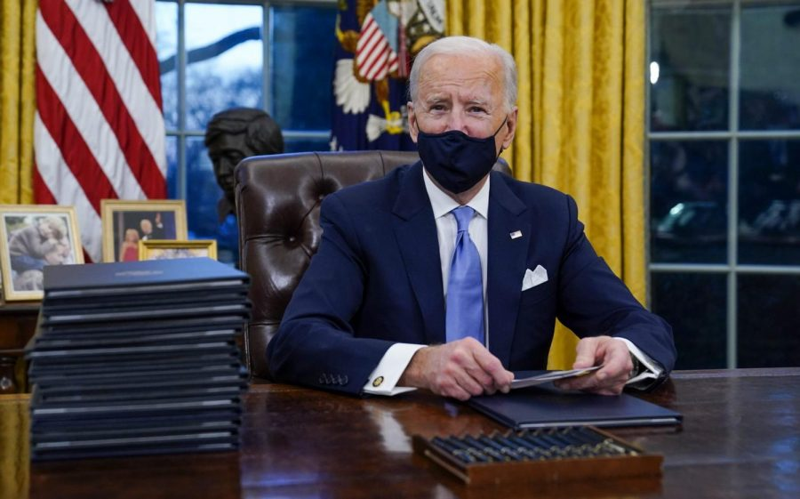 Once inaugurated, President Biden quickly got to work, writing policies in response to climate change, COVID-19, immigration, racial injustice and more.